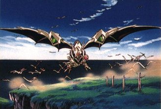 Escaflowne in Dragon mode